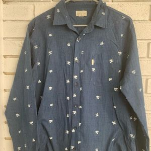 Walker Refinery Long Sleeve Button up